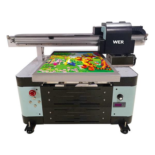 a2 digitaalne tasapinnaline väikese uv-plaadi uv printer