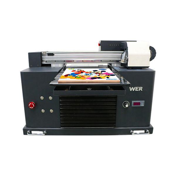 a3 suurus täisautomaatne 4 värvi dx5 printeri pea mini uv printer dtg uv flatbe