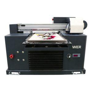 a3 suuruse mitmevärviline lameda voodiga t-särk dtg printer