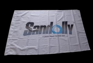 Flag Cloth banner trükitud 1,6 m (5 jalga) ökolahusti printeriga WER-ES160
