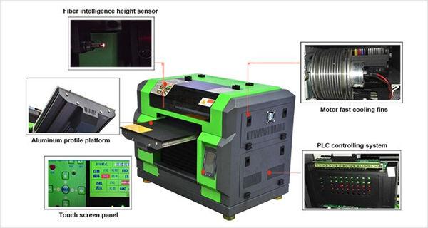 Kvaliteetne dtg a3 t-särk uv printer